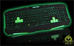KEEP OUT Gaming Keyboard - F90